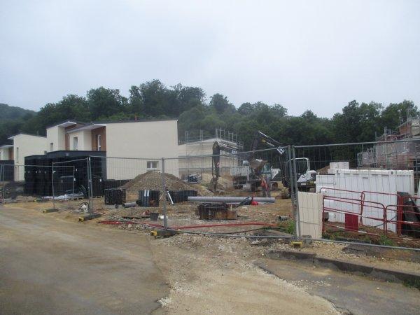 Liverdun : Réhabilitation du site  HLM -Rond-Chêne
