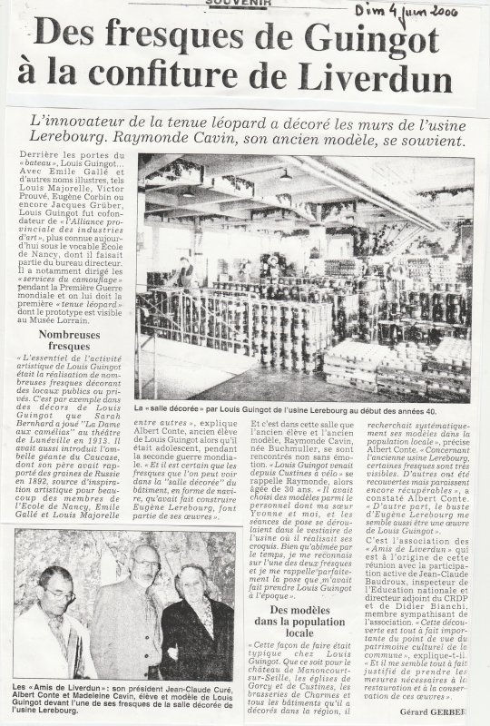 Liverdun : Rencontre d'historiens .