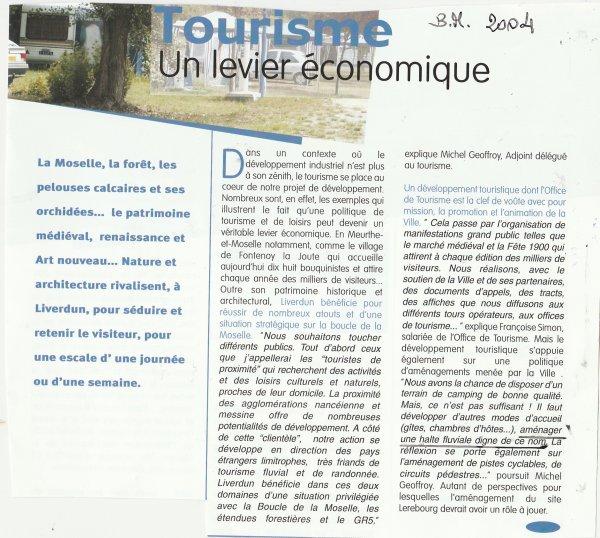 Liverdun : le port de plaisance ! un projet dans l'eau...
