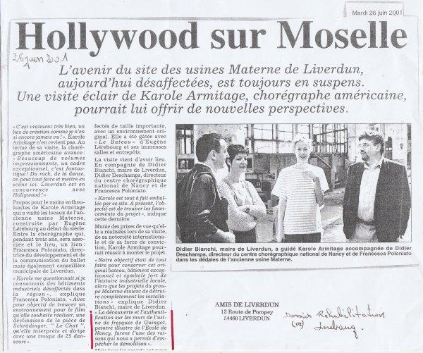 """Liverdun : Les """" perles """" de la réhabilitation Lerebourg ( I I )"""