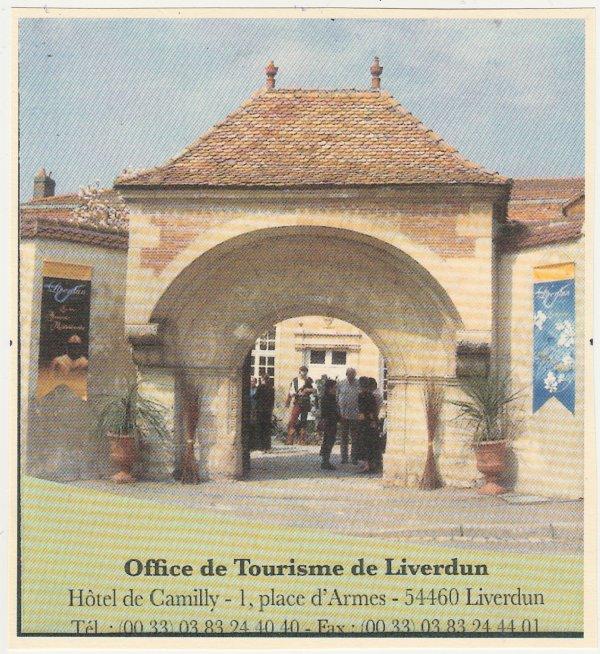 Liverdun :  le  Bureau d'Accueil Touristique du Bassin Pompey . ( I I )