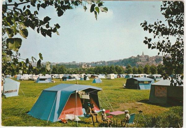 Liverdun : les terrains de camping ( I )