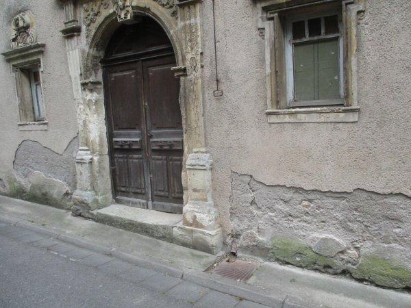 Liverdun : patrimoine  protégé dégradé.