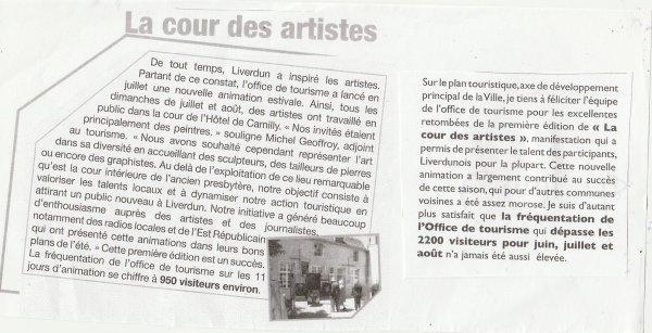 Liverdun : La cour des artistes ( I I ) .