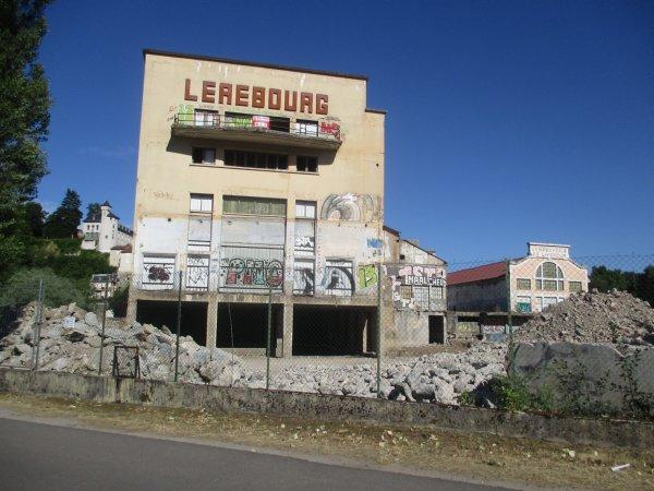 Liverdun : Sécurisation de la  friche industrielle St Gobain.