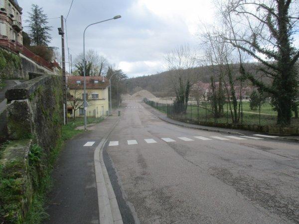 Liverdun : Quartier du moulin .