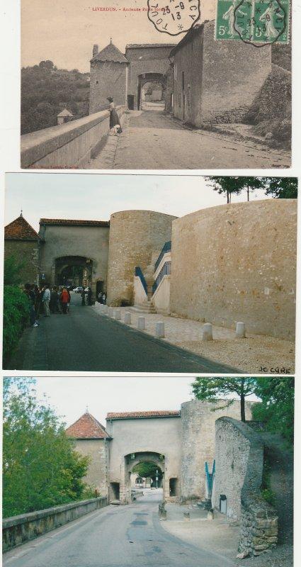 Liverdun : Quartier de la porte du haut .