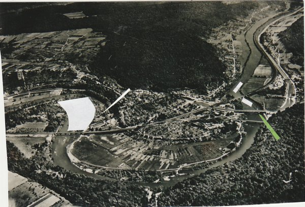 Liverdun : destruction du site . ( I )