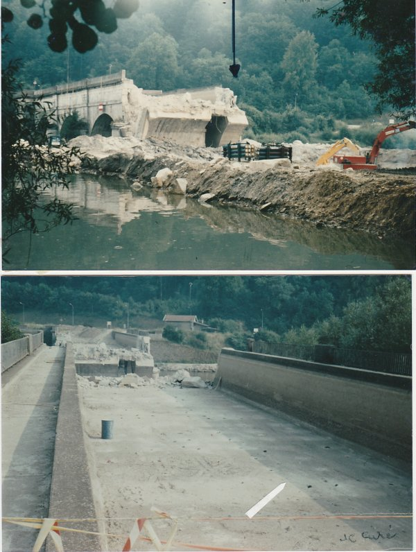 Liverdun : destruction d'un site  ( III ) .