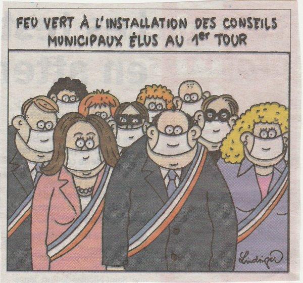 Un nouveau conseil municipal .