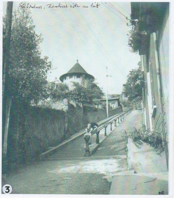 Liverdun : les escaliers .