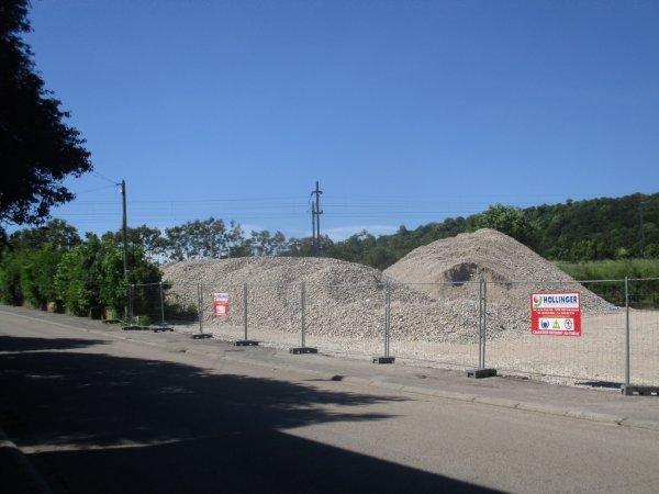 Liverdun : la place de la gare rénovée .