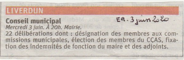 Nouveaux élus : premier conseil municipal .
