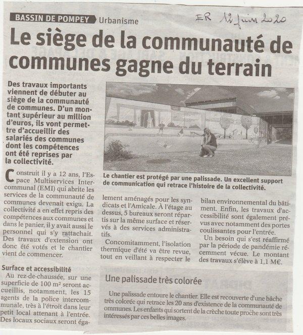 Liverdun :  Regroupement communautaire .