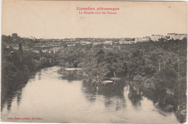 Liverdun :  balade au XVIII° siècle .