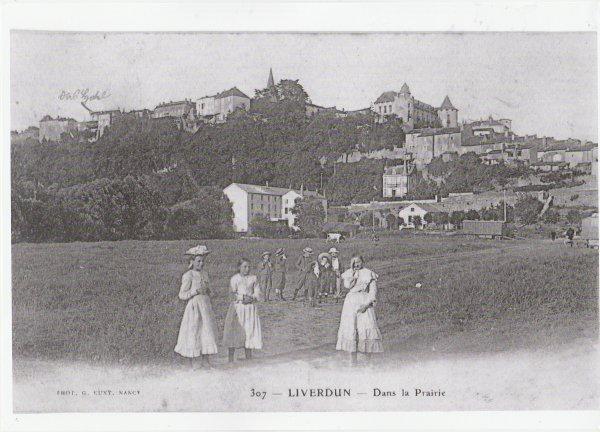 Liverdun : La grande Guerre .
