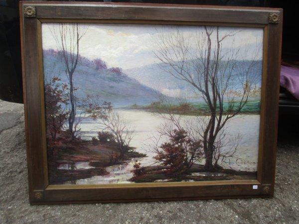 Liverdun : peinture sur toile .