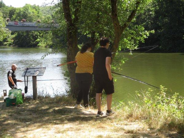 Liverdun : Paradis des pêcheurs.