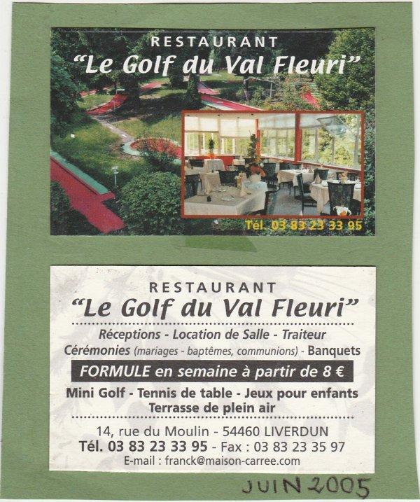 """Liverdun : """" Le Golf """"  ressuscité ."""