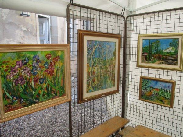 Liverdun : La Cour des Artistes .