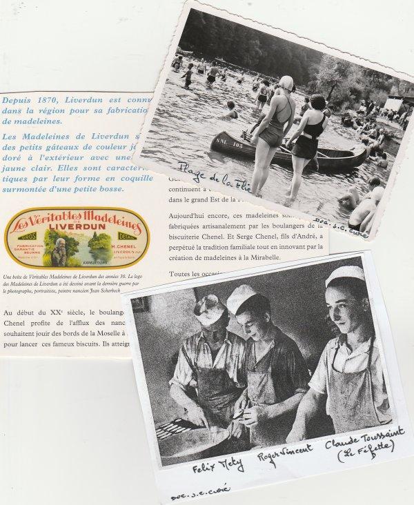 Liverdun : histoire de madeleines . ( I )