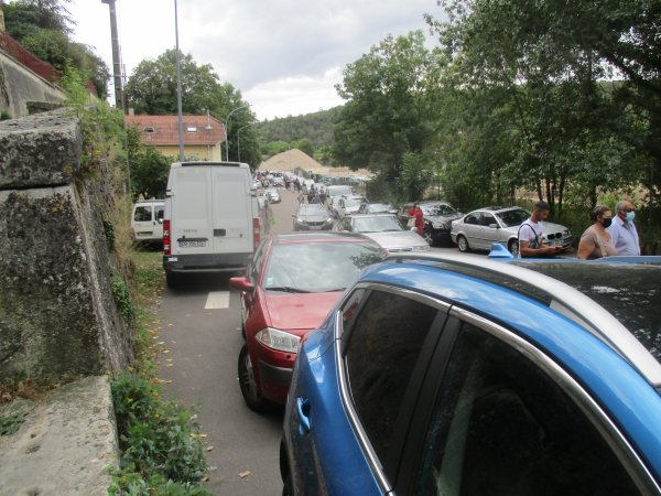 Liverdun : la galère des automobilistes .