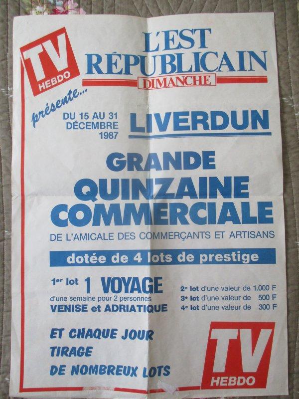 """Les """" grandes heures liverdunoises """" ."""