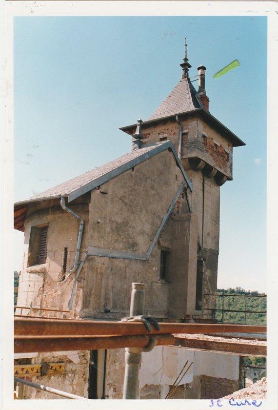 Château Corbin : travaux  d'été.