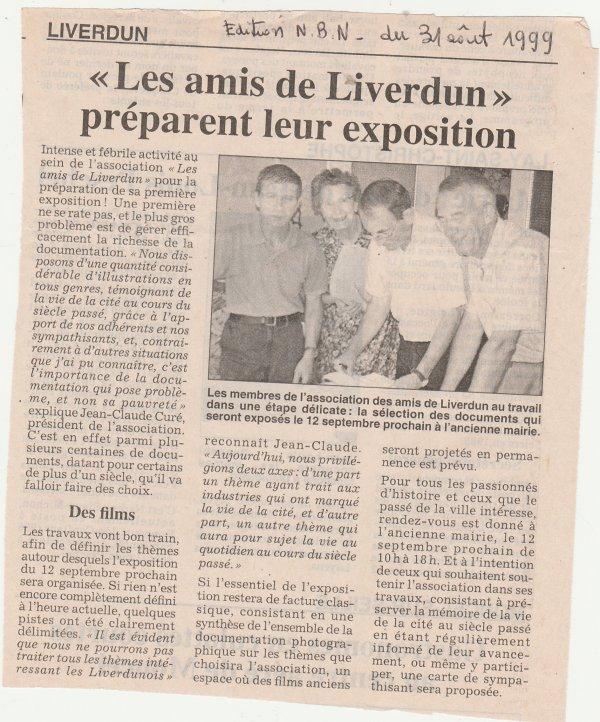 """Les  """" Amis de Liverdun """" ."""