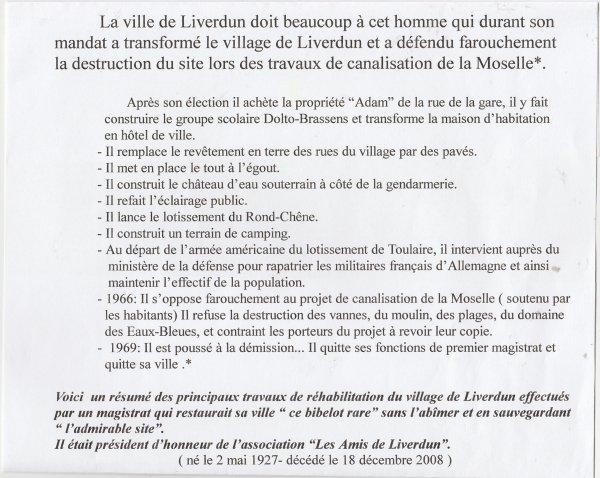 Liverdun : Leur histoire  ( I I ) .