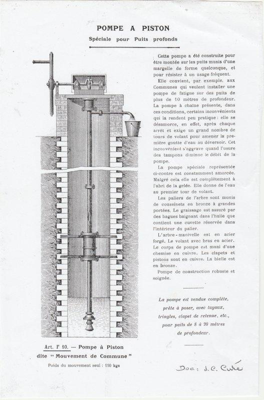 Liverdun :   Histoire de pompes..