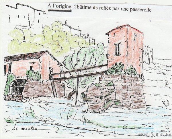 Liverdun : son moulin .