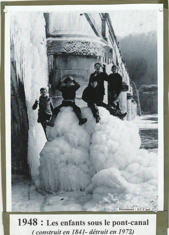 Liverdun : l'époque des glacières . ( I ) .