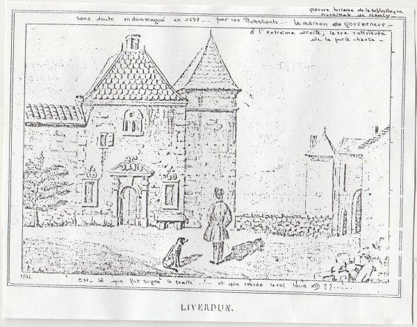 Liverdun : cheminées et taques remarquables: