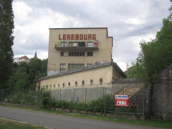 Vestige industriel .  Site Lerebourg .