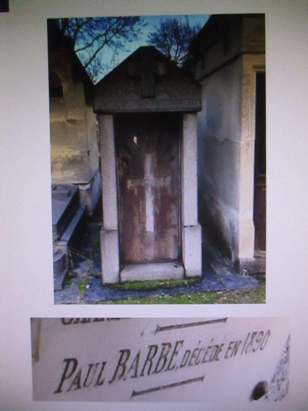 Paul Barbe : Une vie mouvementée .