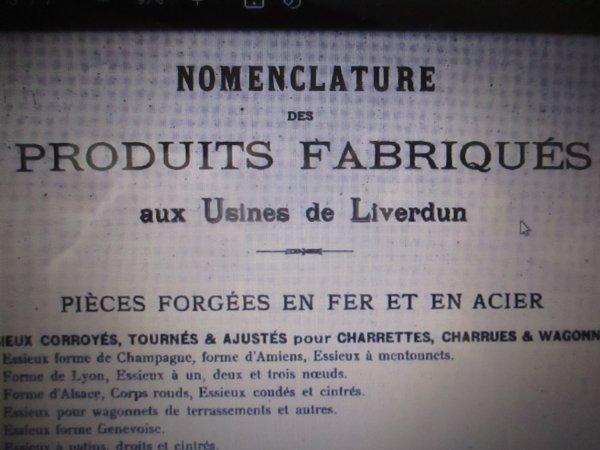 Liverdun : Les Forges .