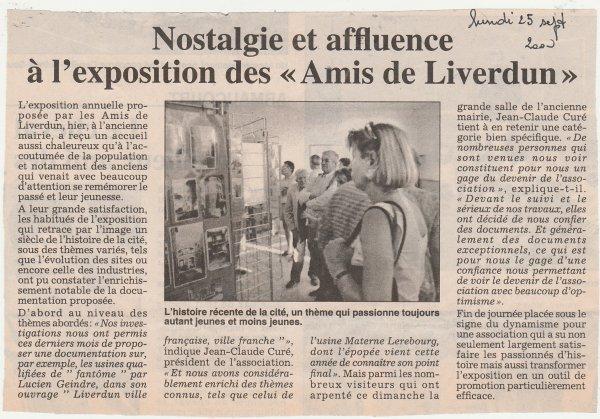 Liverdun : Histoire et mémoire.