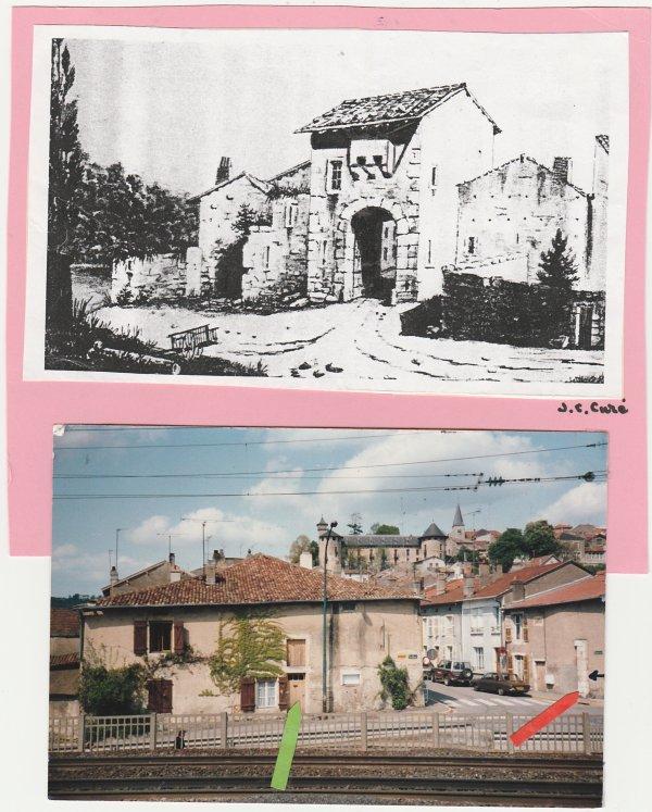 Liverdun : les traces du passé.