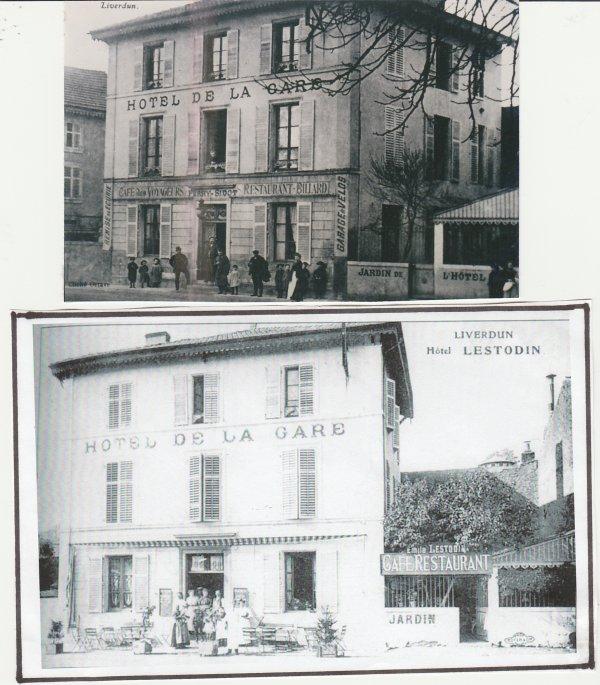 Liverdun : les traces du passé .