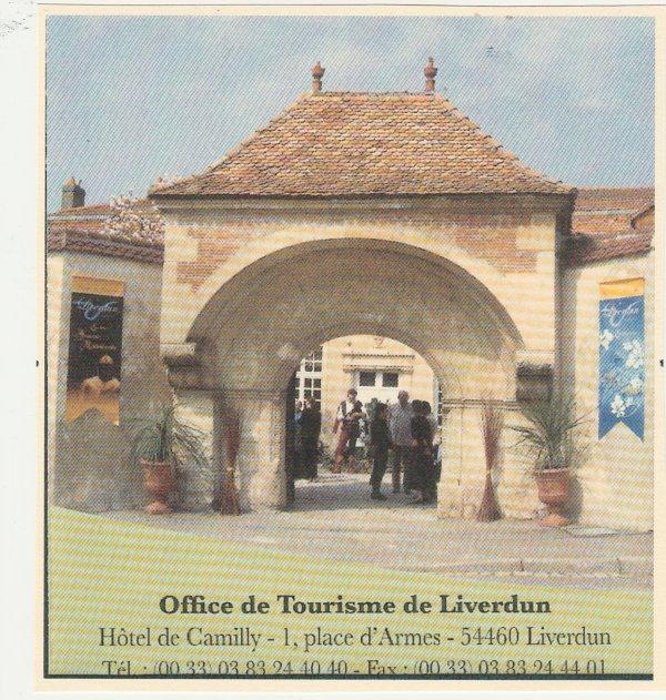 Liverdun : Touristes ...sans accueil.