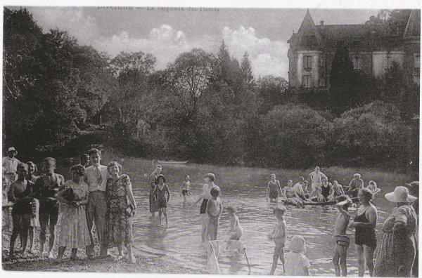 Liverdun : Bord de Moselle .