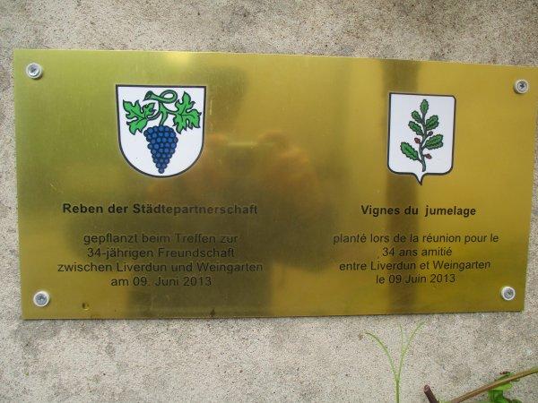 Jumelage Liverdun - Weingarten .