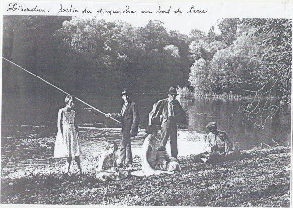 Liverdun : pêche en famille.