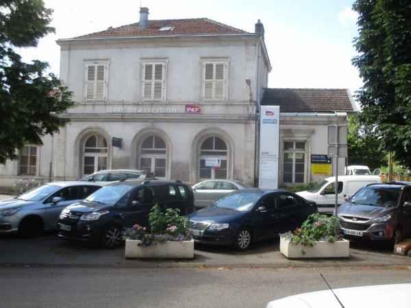 Renaissance du bâtiment de la gare .