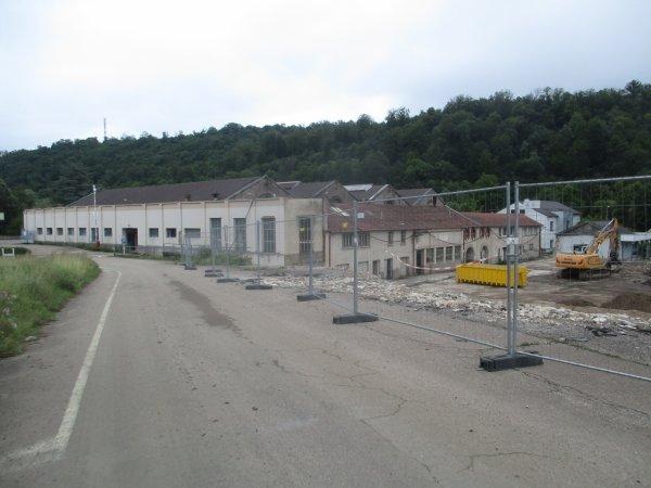 Site St Gobain PAM  : Réhabilitation.