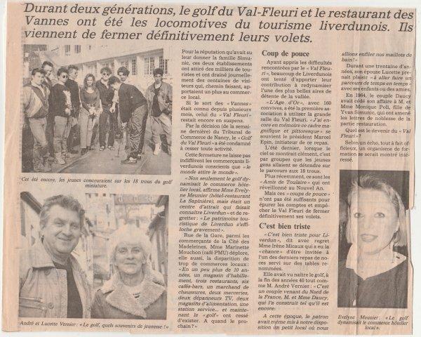 Renaissance du Golf - Val Fleuri  .