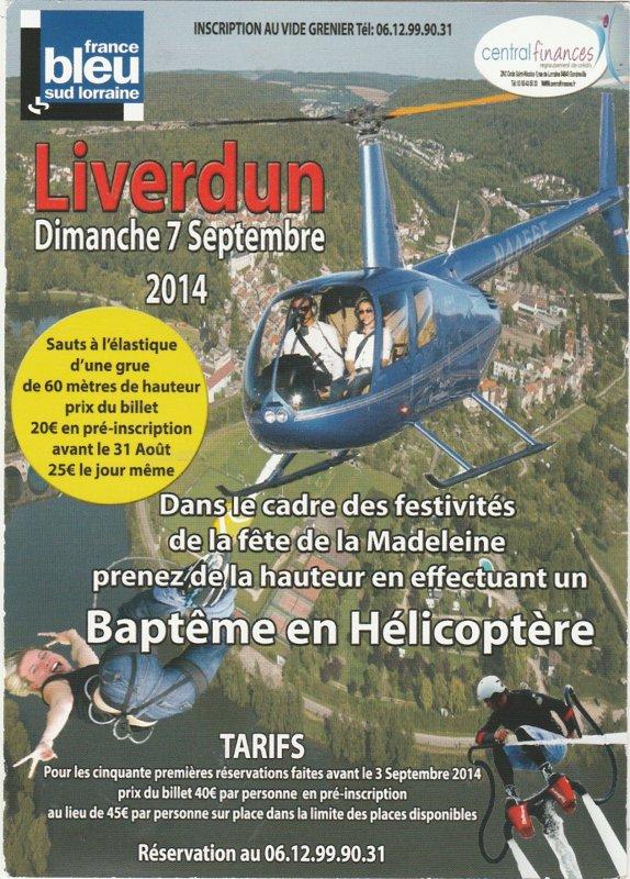 Liverdun : Fête de la madeleine .
