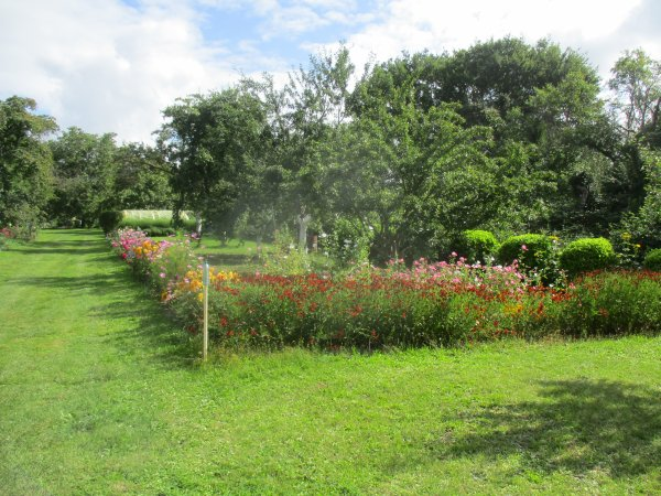 Liverdun  :  ses jardins fleuris .