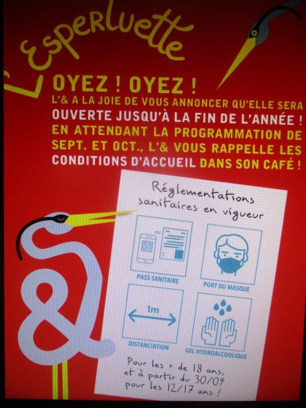 l'Esperluette :  le café associatif liverdunois  ( I )